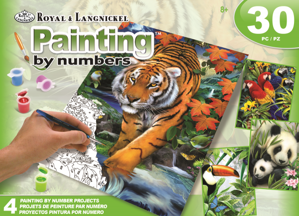 Royal & Langnickel AVS-PBN209 SM Jungle Box Set