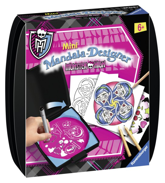 Ravensburger 29746 Monster High Mini Mandala