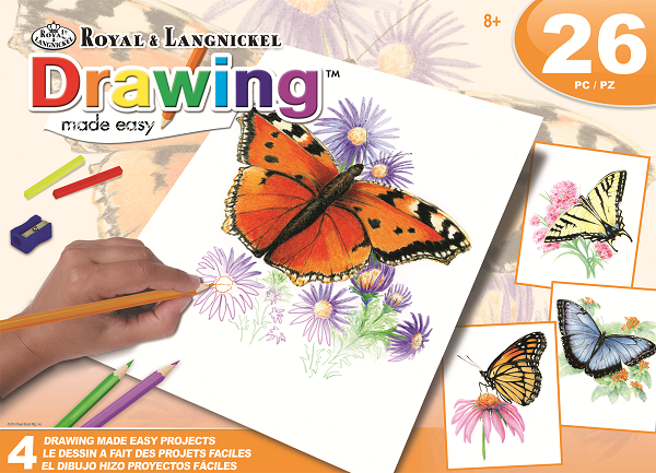 Royal & Langnickel AVS-DME202 Drawing Butterfly Box
